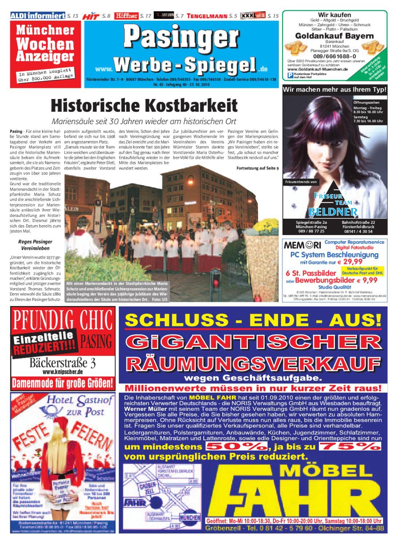 Full Size of Ausstellungsküchen Abverkauf Höffner Kw 43 2010 By Wochenanzeiger Medien Gmbh Inselküche Big Sofa Bad Wohnzimmer Ausstellungsküchen Abverkauf Höffner