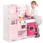 Kita Hamburg Spielkche Rosa Kche 85 31 91 Cm Mit Zubehr Kinder Spielküche Wohnzimmer Spielküche