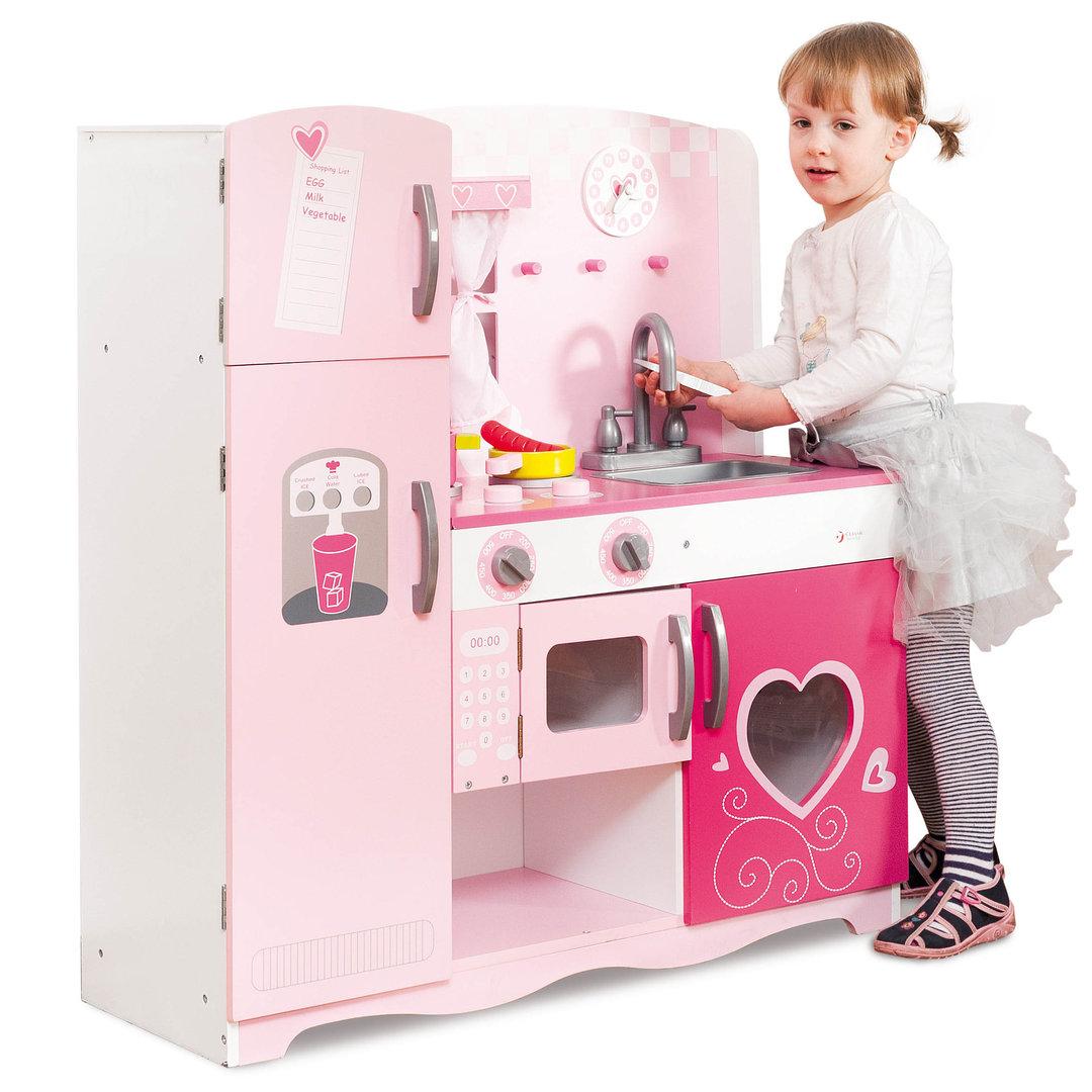 Full Size of Kita Hamburg Spielkche Rosa Kche 85 31 91 Cm Mit Zubehr Kinder Spielküche Wohnzimmer Spielküche
