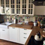 Küchen Fliesenspiegel Sehr Schne Mexikanische Fliesen Fr Kche Küche Regal Selber Machen Glas Wohnzimmer Küchen Fliesenspiegel