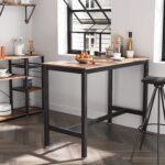 Amazonde Vasagle Bartisch Metall Klapptisch Garten Küche Wohnzimmer Wand:ylp2gzuwkdi= Klapptisch
