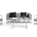 Loungemöbel Alu Aluminium Sitzgruppen Living Zone Garten Günstig Aluplast Fenster Holz Preise Verbundplatte Küche Wohnzimmer Loungemöbel Alu