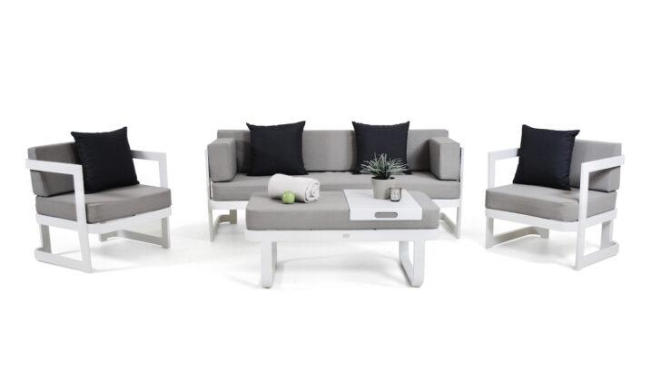Medium Size of Loungemöbel Alu Aluminium Sitzgruppen Living Zone Garten Günstig Aluplast Fenster Holz Preise Verbundplatte Küche Wohnzimmer Loungemöbel Alu