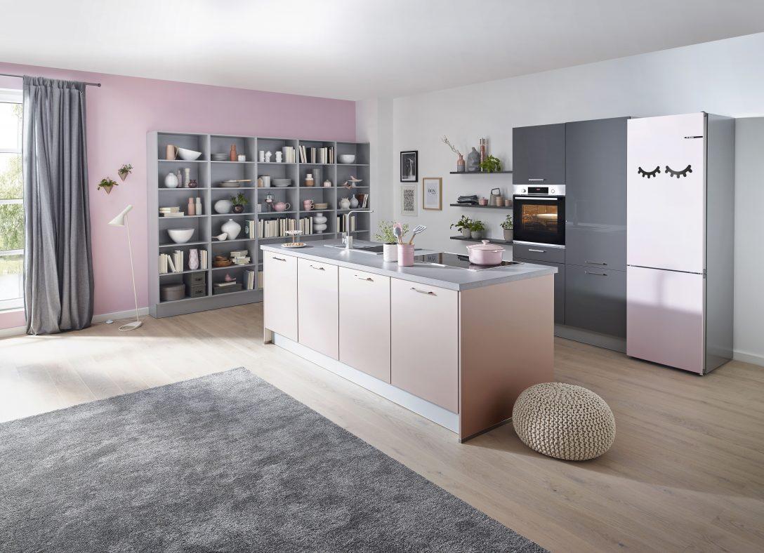 Full Size of Wandfarbe Kche Rosa Spritzschutz Hochglanz Ikea Tapete Küche Wohnzimmer Wandfarbe Rosa