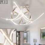 Design Led 30 Watt Deckenleuchte Mit Kristall Effektfolie Meinelampe Küche Industriedesign Wohnzimmer Deckenleuchten Designer Lampen Esstisch Esstische Wohnzimmer Deckenleuchte Design