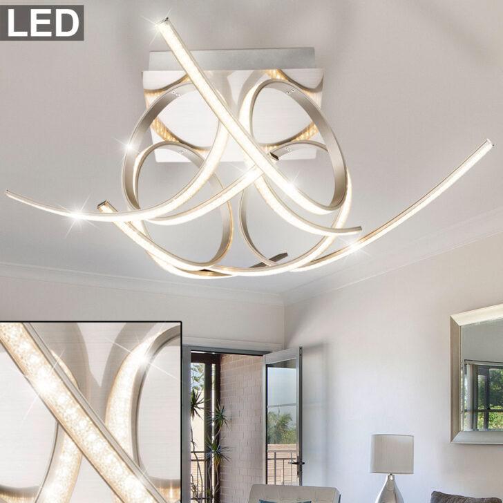 Medium Size of Design Led 30 Watt Deckenleuchte Mit Kristall Effektfolie Meinelampe Küche Industriedesign Wohnzimmer Deckenleuchten Designer Lampen Esstisch Esstische Wohnzimmer Deckenleuchte Design