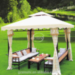 Pavillon Eisen Wohnzimmer Pavillon Eisen Hausgarten Wasserdichte Zelt Outdoor Leisure Metall Garten