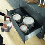 Schubladeneinsatz Teller Innenausstattung So Vermeiden Sie Chaos In Der Kche Sofa Hersteller Küche Wohnzimmer Schubladeneinsatz Teller