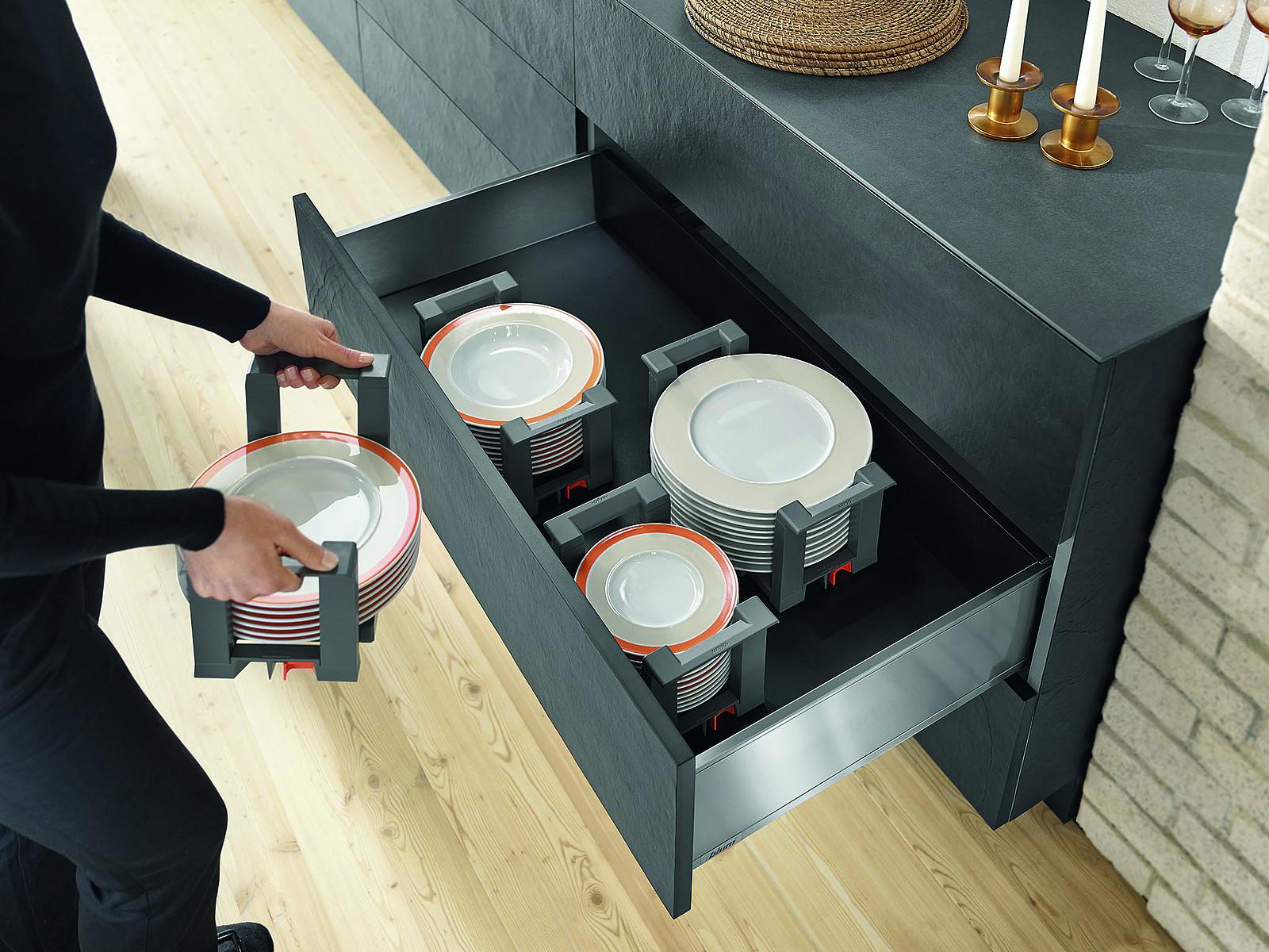 Full Size of Schubladeneinsatz Teller Innenausstattung So Vermeiden Sie Chaos In Der Kche Sofa Hersteller Küche Wohnzimmer Schubladeneinsatz Teller