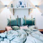 Auch Im Schlafzimmer Darf Wanddeko Nicht Fehle Vorhänge Kommode Stuhl Für Wandbilder Komplett Poco Deckenleuchte Loddenkemper Rauch Truhe Deckenleuchten Wohnzimmer Schlafzimmer Wandlampen