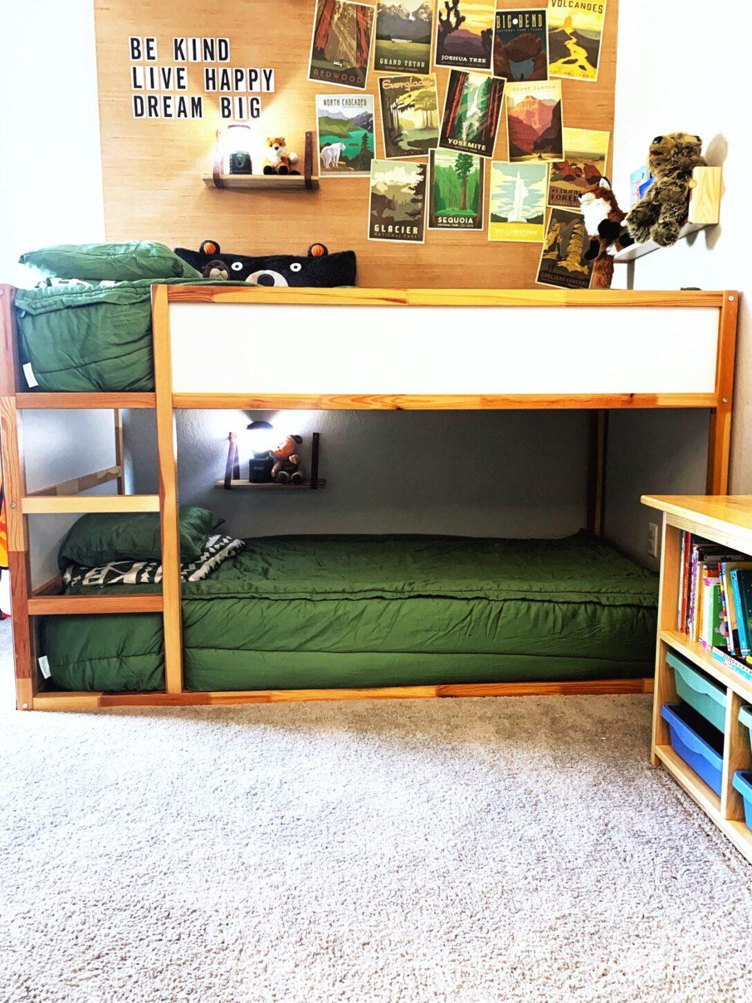 Large Size of Ikea Kura Hack House Bed Montessori Storage Floor Hacks Pinterest Slide Ideas Bunk With Pegboard Jill Krause Wohnzimmer Kura Hack