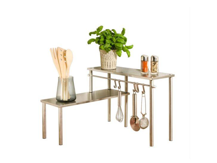 Medium Size of Wenko Kchen Eckregal Mit 2 Ablagen Küchen Regal Wohnzimmer Lidl Küchen