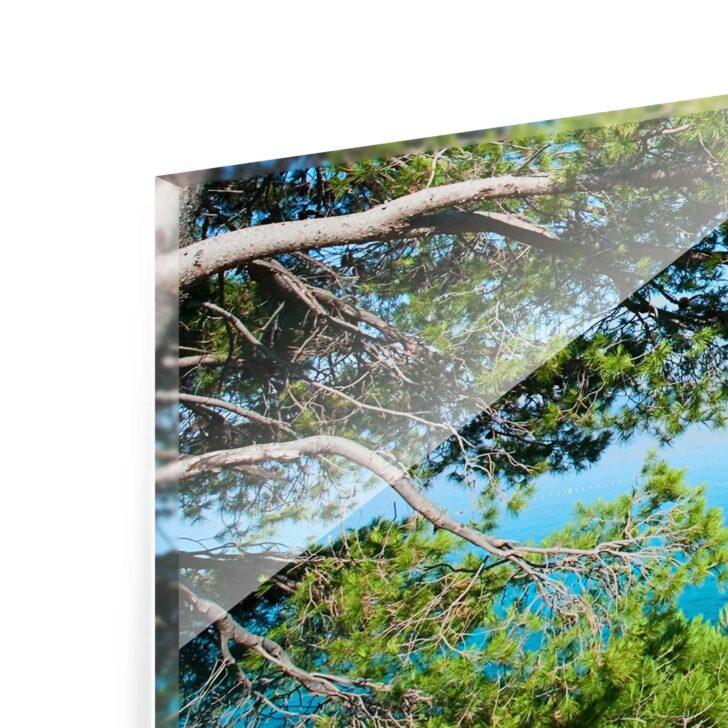 Medium Size of Glasbild 120x50 Hidden Paradise Panorama Quer Glasbilder Bad Küche Wohnzimmer Glasbild 120x50