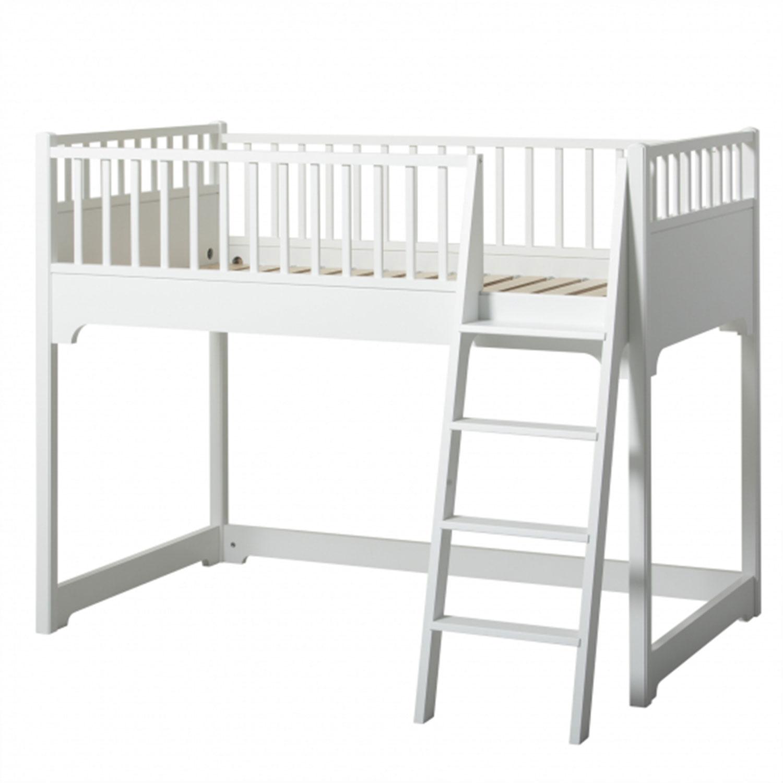 Full Size of Halbhohes Hochbett Oliver Furniture Seaside Junior Collection Bett Wohnzimmer Halbhohes Hochbett