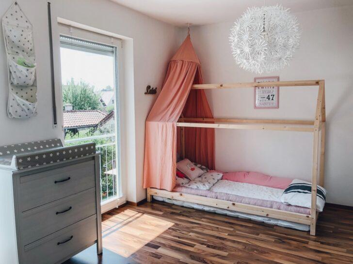 Medium Size of Endlich Durchschlafen Diy Hausbett Fr Nach Montessori Wohnzimmer Kinderbett Diy