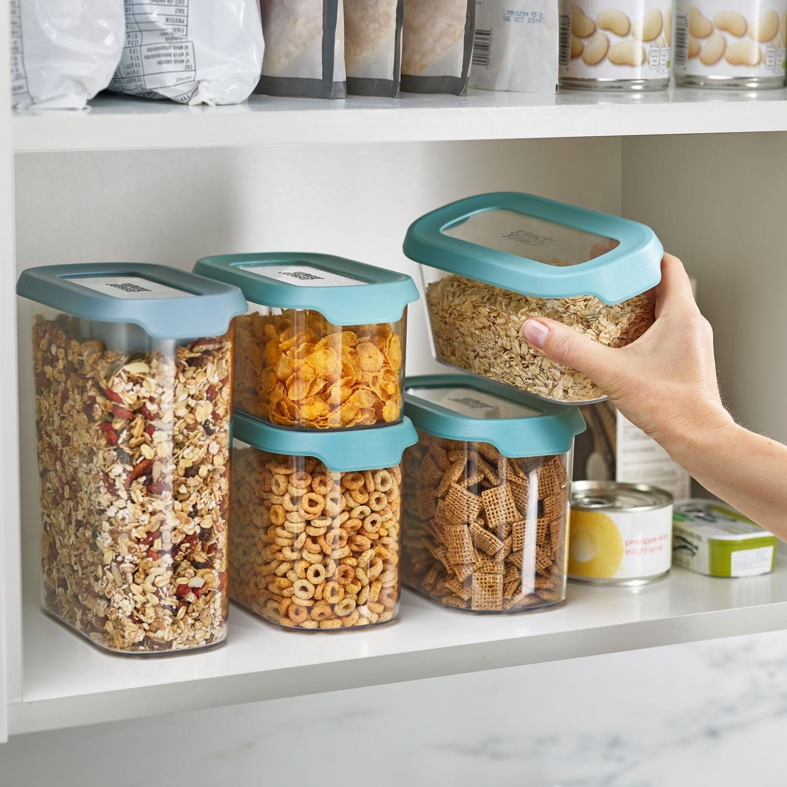 Full Size of Aufbewahrungsbehälter Joseph Cupboardstore Aufbewahrungsbehlter 5er Set Opal Küche Wohnzimmer Aufbewahrungsbehälter