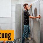 Easywall Alu Verbundplatte Duschrckwand Einbauen Hornbach Meisterschmiede Youtube Wohnzimmer Easywall Alu Verbundplatte