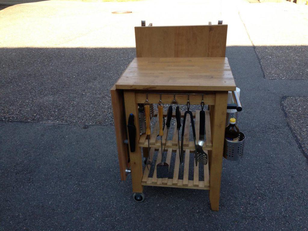 Full Size of Grill Beistelltisch Ikea Weber Tisch L Outdoor Aldi Edelstahl Holz Betten 160x200 Grillplatte Küche Bei Modulküche Sofa Mit Schlaffunktion Kaufen Kosten Wohnzimmer Grill Beistelltisch Ikea