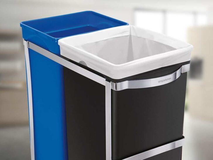 Medium Size of Ausziehbarer Mlleimer Fr Kchenschrank Unter Sple Recyclingcom Wohnzimmer Küchenabfalleimer