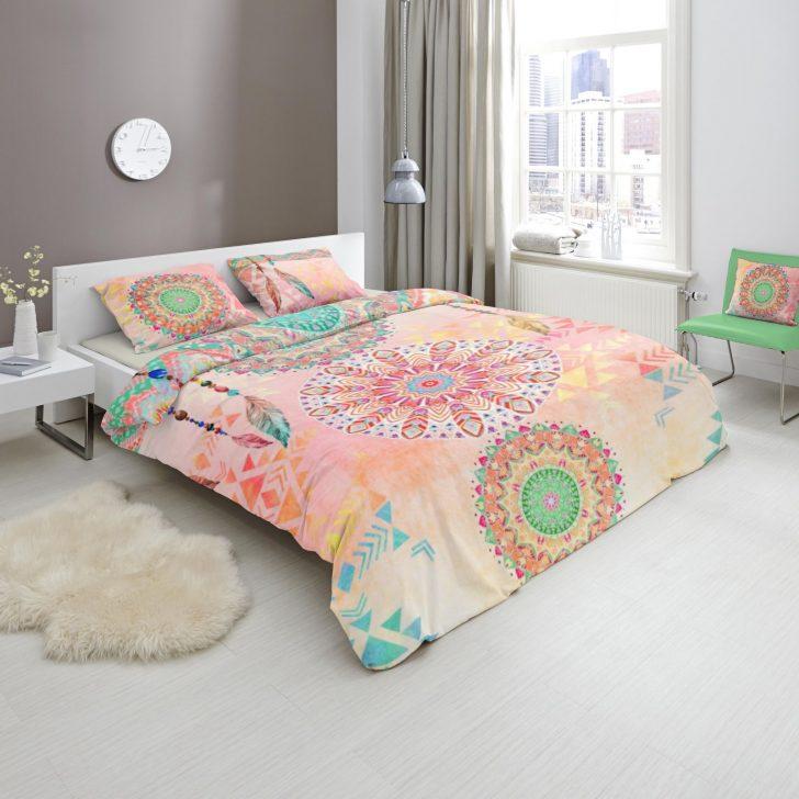 Medium Size of Bettwäsche 155x220 Satin Bettwsche Ornamente Rosa Bunt Cm Online Bei Sprüche Wohnzimmer Bettwäsche 155x220