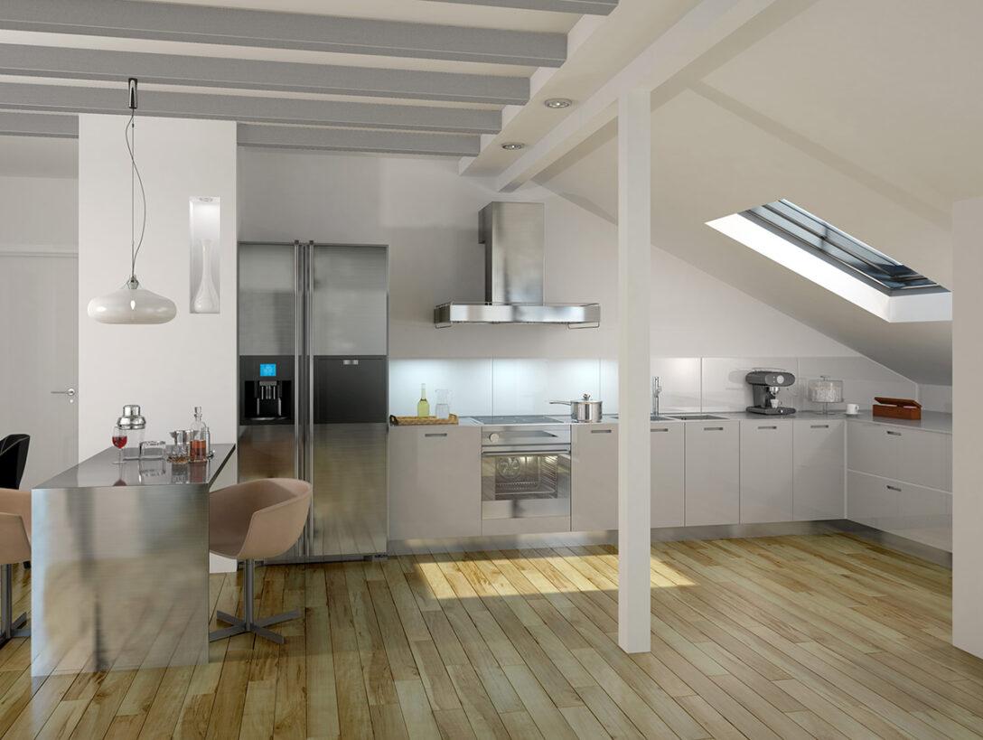Large Size of Dachgeschosswohnung Einrichten Platz Ideal Nutzen Mein Bau Küche Badezimmer Kleine Wohnzimmer Dachgeschosswohnung Einrichten