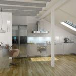 Dachgeschosswohnung Einrichten Wohnzimmer Dachgeschosswohnung Einrichten Platz Ideal Nutzen Mein Bau Küche Badezimmer Kleine