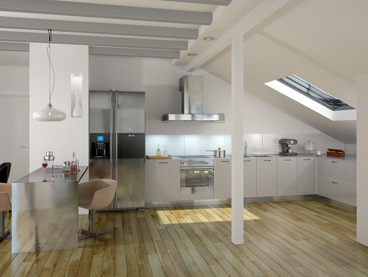 Full Size of Dachgeschosswohnung Einrichten Platz Ideal Nutzen Mein Bau Küche Badezimmer Kleine Wohnzimmer Dachgeschosswohnung Einrichten