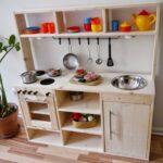 Spielzeugküche Holz Wohnzimmer Spielzeugküche Holz Fenster Alu Holzofen Küche Holzhaus Kind Garten Betten Aus Loungemöbel Sichtschutz Regal Naturholz Massivholzküche Spielhaus Fliesen