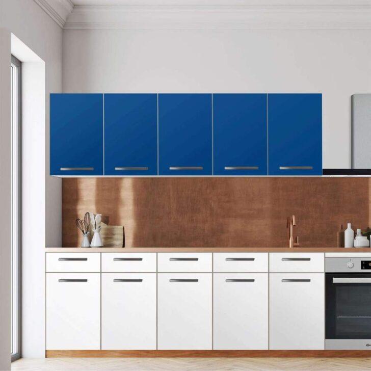 Medium Size of Klebefolie Fr Kche Wandschrank Blau Dark Creatisto Nobilia Küche Inselküche Abverkauf Selbst Zusammenstellen Einbauküche L Form Vorratsschrank Umziehen Wohnzimmer Küche Blau
