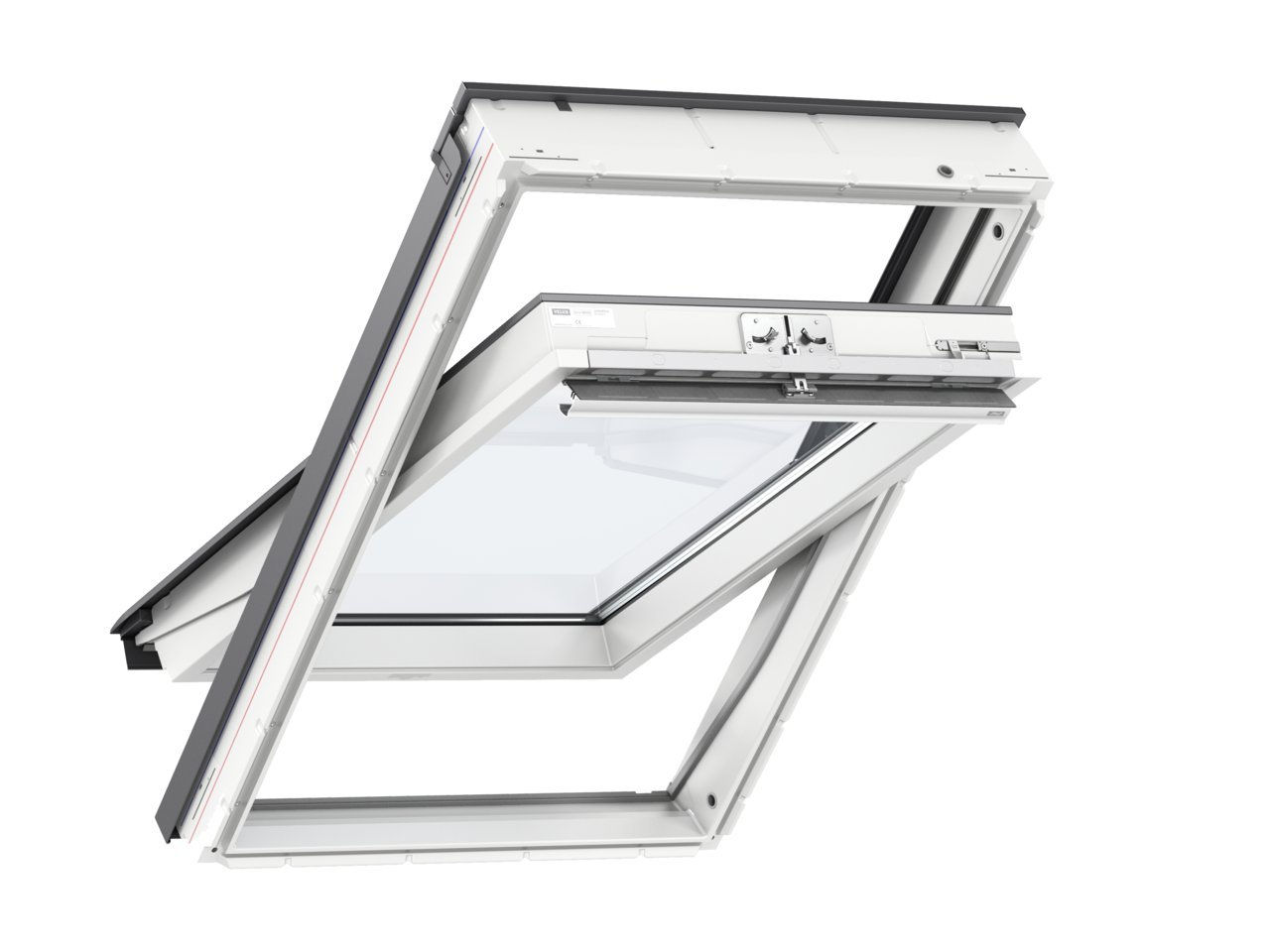 Full Size of Velux Scharnier Original Veludachfenster Kunststoff Thermo Star 78 160 Mit Fenster Rollo Einbauen Kaufen Ersatzteile Preise Wohnzimmer Velux Scharnier