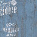 Tapete Küche Kaffee Wohnzimmer Tapete Coffee Kche Bistro Blau As Creation 33481 5 Einbau Mülleimer Küche Keramik Waschbecken Kurzzeitmesser Industrielook Einbauküche Mit E Geräten Auf