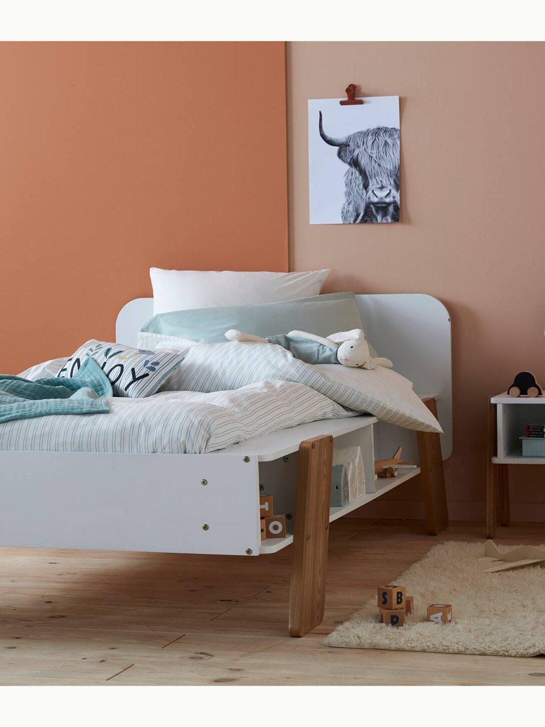 Large Size of Vertbaudet Kinderbett Architekt In Wei Natur Coole Betten T Shirt Sprüche T Shirt Wohnzimmer Coole Kinderbetten