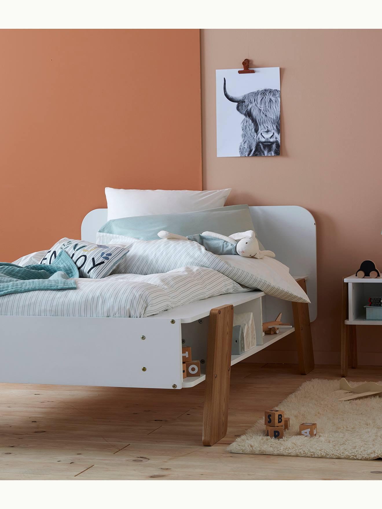 Full Size of Vertbaudet Kinderbett Architekt In Wei Natur Coole Betten T Shirt Sprüche T Shirt Wohnzimmer Coole Kinderbetten