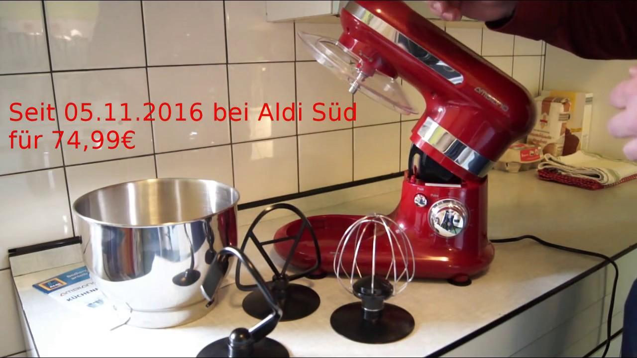 Full Size of Lidl Küchen Aldi Ambiano Kchenmaschine Im Test Youtube Regal Wohnzimmer Lidl Küchen