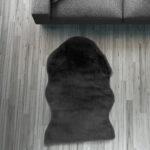 Fell Lufer Teppich Schwarz 55 80 Cm Sofa Stuhl Matte Tier Wohnzimmer Teppiche Home Affair Affaire Big Bett Wohnzimmer Home 24 Teppiche