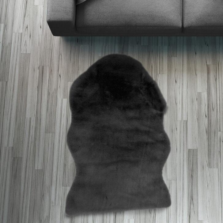 Medium Size of Fell Lufer Teppich Schwarz 55 80 Cm Sofa Stuhl Matte Tier Wohnzimmer Teppiche Home Affair Affaire Big Bett Wohnzimmer Home 24 Teppiche