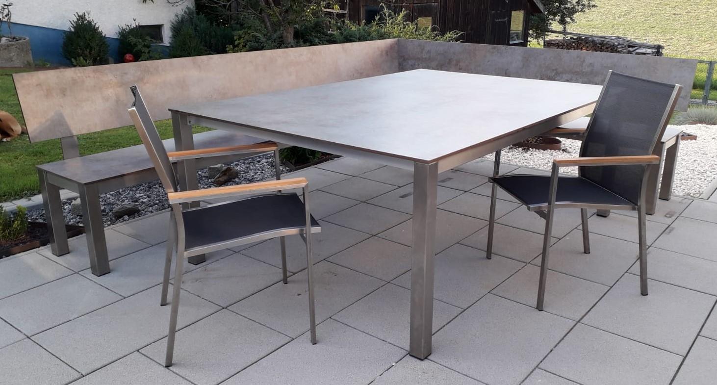 Full Size of Tischgestelle Tischplatten Nach Ma Ab Fabrik Regal Naturholz Bewässerung Garten Holzbank Whirlpool Schallschutz Bett Massivholz Cd Holz Stapelstühle Wohnzimmer Garten Eckbank Holz