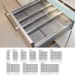 Nobilia Besteckeinsatz Besteckkasten Kunststoff Variabel Cuisio Einbauküche Küche Wohnzimmer Nobilia Besteckeinsatz