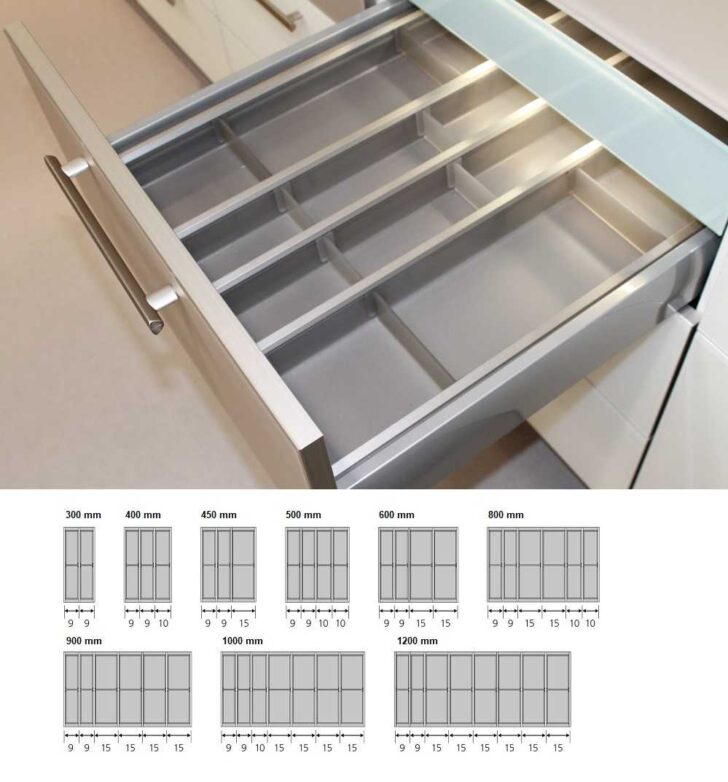 Medium Size of Nobilia Besteckeinsatz Besteckkasten Kunststoff Variabel Cuisio Einbauküche Küche Wohnzimmer Nobilia Besteckeinsatz
