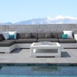 Terassen Sofa Terrassen Essgruppe 8 Personen Aus Paletten Terrasse Wohnzimmer Couch Terrasse