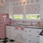Ausgezeichnete Retro Rosa Kche Shabby Chic Kitchen Ebay Küche Wandsticker Einbauküche L Form Gardinen Für Vorhänge Ausstellungsküche Pantryküche Wohnzimmer Rosa Küche