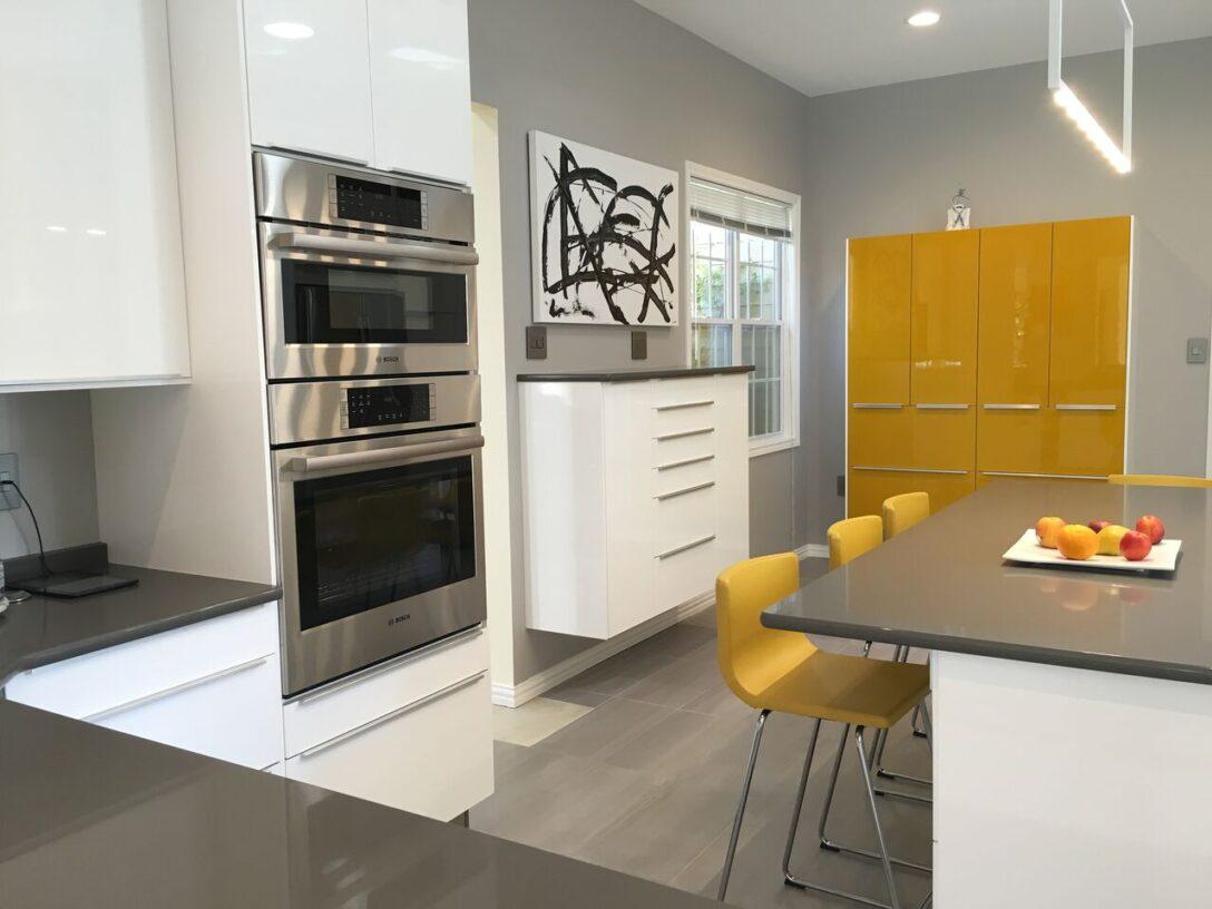 Large Size of Ikea Kitchen 10 Ringhult White With High Gloss Yellow Accent Miniküche Küche Kosten Sofa Mit Schlaffunktion Betten Bei Modulküche Kaufen 160x200 Wohnzimmer Ringhult Ikea