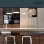 Ausstellungsküchen Team 7 Linee K7 In Nussbaum Bronze Musterkchen Im Bhm Betten Wohnzimmer Ausstellungsküchen Team 7