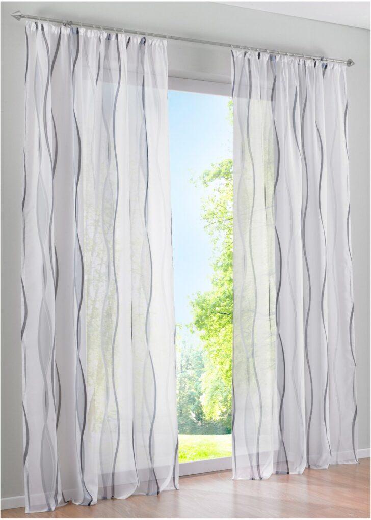 Medium Size of Bon Prix Vorhänge Transparente Gardine In Zeitlosem Design Wei Silber Küche Wohnzimmer Bonprix Betten Schlafzimmer Wohnzimmer Bon Prix Vorhänge