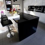 Granit Arbeitsplatte Wohnzimmer Arbeitsplatte Aus Schwarzem Granit Absolut Black Franko Steinwelt Küche Sideboard Mit Arbeitsplatten Granitplatten