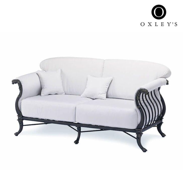 Medium Size of Vidaxl Gartensofa 2 Sitzer Massivholz Akazie Garten Couch 2 Sitzer Polyrattan Ausziehbar Sofa Rattan Aluminium Aus Luxor Bett 200x200 Komforthöhe 180x200 Wohnzimmer Gartensofa 2 Sitzer