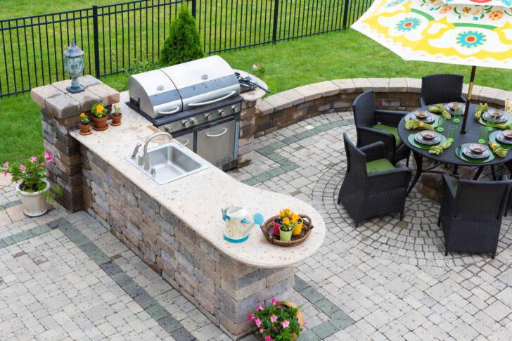 Medium Size of Neue Trends Outdoor Kche Kitchenworldnet Mobile Küche Wohnzimmer Mobile Outdoorküche
