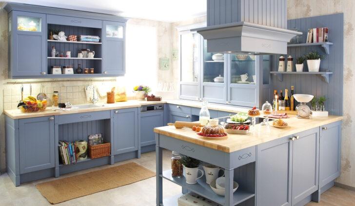 Medium Size of Arbeitsplatte Kche Blau Tapete Küche Modern Einbauküche Mit Elektrogeräten Komplette Waschbecken Hochglanz Grau Deckenleuchten E Geräten Landhausküche Wohnzimmer Küche Blau Grau