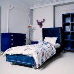 Jugendbett 90x200 Wohnzimmer Jugendbett 90x200 Kinderbett Holz Luxus Exclusiv Art Deco Bett Mit Lattenrost Kiefer Weißes Weiß Und Matratze Bettkasten Schubladen Betten