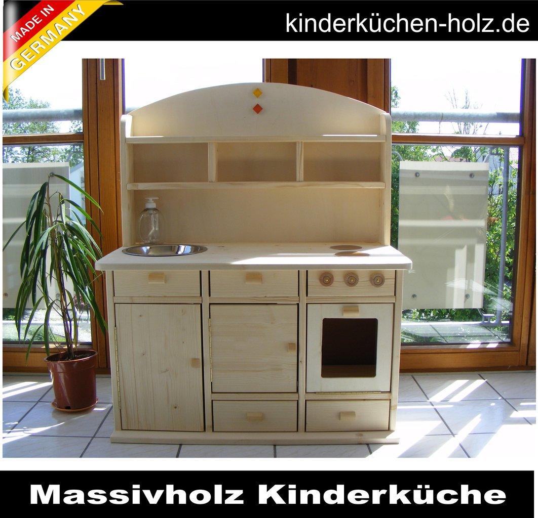 Full Size of Spielküche Kinderkche Spielkche Lara Aus Massivholz Handgemacht Kinder Wohnzimmer Spielküche
